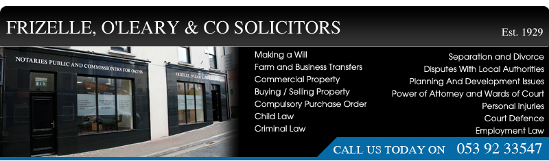 Frizelle, O'Leary & Co Solicitors